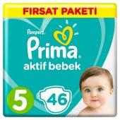 Prima Fırsat Paketi Bebek Bezi 5 46 Adet
