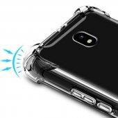 Galaxy J730 Pro Kılıf Nitro Anti Shock Silikon Kapak + Cam Ekran -3