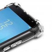 Galaxy J730 Pro Kılıf Nitro Anti Shock Silikon Kapak + Cam Ekran -7