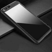 Xiaomi Mi 6 Kılıf Zore Buttom Silikon Kapak + Cam Ekran Koruyucu -9