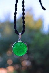 Stoneage Jade Doğal Taş Bayan Kolye