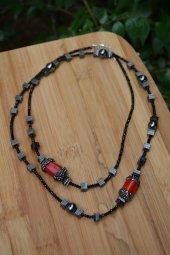 Stoneage Jewellery Özel Tasarım Mercan Bayan Kolye