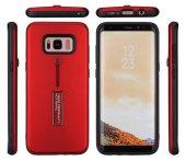 Galaxy Grand Prime Kılıf Zore Olive Standlı Sert Kapak + Cam Ekra-6