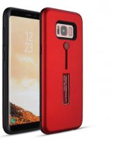 Galaxy Grand Prime Kılıf Zore Olive Standlı Sert Kapak + Cam Ekra-12