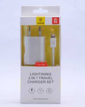 Zore Silver Lightning İphone Travel Set Z 09