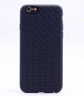 Apple iPhone 8 Kılıf Zore Cross Silikon Kapak + Cam Ekran Koruyuc-12