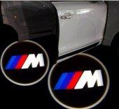 Bmw Kapı Altı Logo Orjinal Işık Yerine M Logolu...