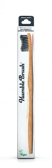 Humble Brush Yetişkin Diş Fırçası Soft Siyah