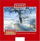 Tanex 20x55mm Bilgisayar Etiketi