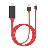 Apple İphone Lightning Hdmı Kablo