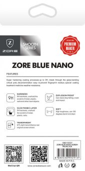 Galaxy J7 Duo Zore Blue Nano Screen Protector Temperli Ekran Koru-2