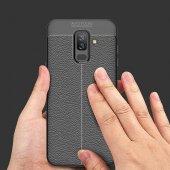 Galaxy J8 Kılıf Zore Niss Silikon Kapak + Cam Ekran Koruyucu Hedi-10