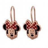 Mickey Mouse Gümüş Çocuk Küpesi