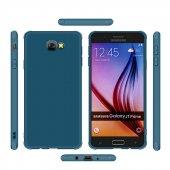 Galaxy J7 Prime Kılıf Zore Neva Silikon Kapak + Cam Ekran Koruyuc-6