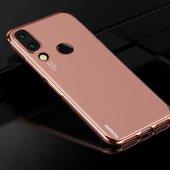 Huawei Honor Play Kılıf Zore Dört Köşeli Lazer...
