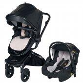 Pierre Cardin Alias Plus Travel Bebek Arabası Siyah Pc 410p