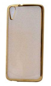 Htc Desire 828 Kılıf Lazer Kaplama Silikon...