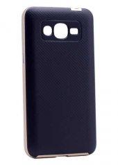 Galaxy J5 2016 Kılıf Zore İnce Mono Karbon Silikon Kapak + Cam Ekran Koruyucu Hediye Kapak-8