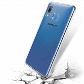 Galaxy A30 Kılıf Süper Silikon Kapak + Cam Ekran Koruyucu Hediye-2