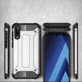 Galaxy A70 Kılıf Zore Crash Silikon Kapak + Cam Ekran Koruyucu Hediye-4