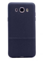 Galaxy J5 2016 Kılıf Zore Matrix Silikon Kapak + Cam Ekran Koruyu