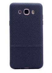 Galaxy J5 2016 Kılıf Zore Matrix Silikon Kapak + Cam Ekran Koruyu-12