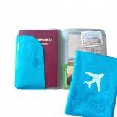 Solaress Pasaport Kılıfı Pasaportluk Seyahat Cüzdanı Bl
