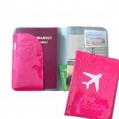 Solaress Pasaport Kılıfı Pasaportluk Seyahat Cüzdanı Pk