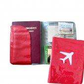 Solaress Pasaport Kılıfı Pasaportluk Seyahat Cüzdanı Rd