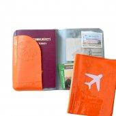 Solaress Pasaport Kılıfı Pasaportluk Seyahat Cüzdanı