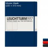 Leuchtturm1917 Master Klasik (A4+), 233 Sayfa Not Defteri,