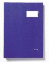 Leitz 5700 Pls.kapaklı İmza Dosyası 20sf Mavi