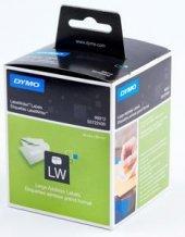 Dymo 99012 Lw Geniş Adres Etiketi 520li 89x36mm