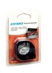 Dymo 59429 Letratag Metalik Gri Şerit