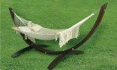 Erdem Bambu Ahşap Gondol Hamak (150x460) R109