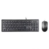 A4 Tech Kr 9276 Usb Tr Q Siyah Klavye+ Optik Mouse...