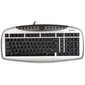 A4 Tech Kb21 Multımedya Q Usb Gümüş Siyah Klavye...