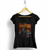 Back To The Future Geleceğe Dönüş Kadın Tişört...