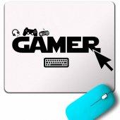 The Gamer Bilgisayar Onlıne Oyuncu Player Mouse Pad