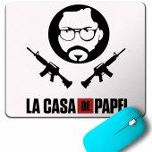 LA CASA DE PAPEL LACASA LOGO MOUSE PAD
