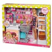 Frp01 Barbie Süpermarkette Oyun Seti Barbienin Hayatı