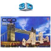 Ceo 3d Ahşap Puzzle Londra Köprüsü Ceo Ap0004