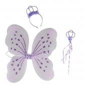 Kelebek Kanatlar Takım Simli Desenli Renkli