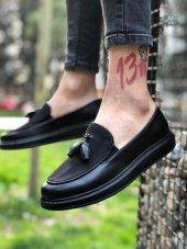 Marqe 2019 Yaz Sezon Siyah Taban Erkek Ayakkabı Siyah M11