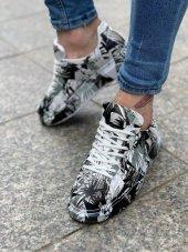 Marqe 2019 Yaz Sezon Beyaz Taban Erkek Ayakkabı Siyah Renklı M315