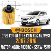 Opel Corsa D 1.3 Cdtı 2007 2010 Bosch Yağ...