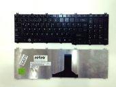 Toshiba Satellite C650, L650, L670 Notebook Klavyesi - Parlak Siy
