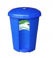 Pedallı Çöp Kovası 11 Litre Koyu Mavi