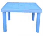 çocuk Masası Plastik Koyu Mavi B80 3 7 Yaş İçin