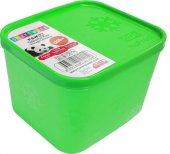 Saklama Kabı Açık Yeşil 1250ml Nofrost 4lü Paket...